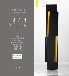 "Juan Mejía Scultures - Exhibit Opening, Polymorphisms"", famous contemporary sculptor, modern artwork for sale, new york, miami etra fine art gallery, modern sculptures for sale, black, 2013"