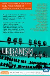 urbanism, Coral Gables Museum Opening Reception Invite, valeria yamamoto, contemporary artist, fine art exhibit miami etra fine art gallery news