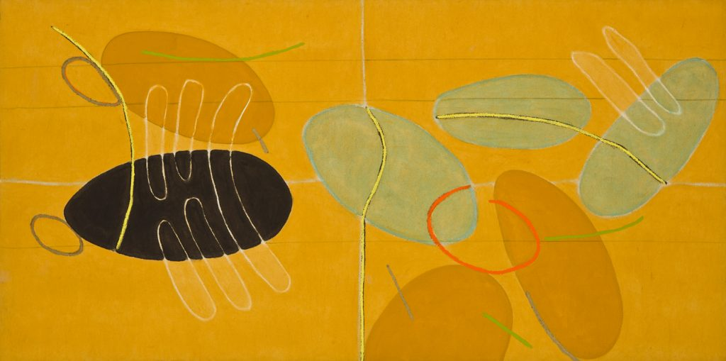 """Eternal Spring"" by Mario Velez, yellow contemporary canvas for sale, miami etra fine art gallery news, famous modern artists, new york gallery"
