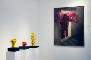 miami art basil, sculptures for sale by Edgar Negret, artwork for sale by Fernando de Szyszlo, miami etra fine art gallery, famous contemporary artists, florida