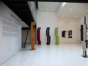 Colorful Sculptures by Juan Mejia, Plecto Galeria in Medellin, famous colombian sculptor, miami etra fine art news, famous contemporary artist, sculpture for sale yellow, red, green, black, red,