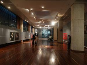 Mario Vélez artworks at Atlas exhibit, bogota colombia, famous artist contemporary exhibit, miami etra fine art news