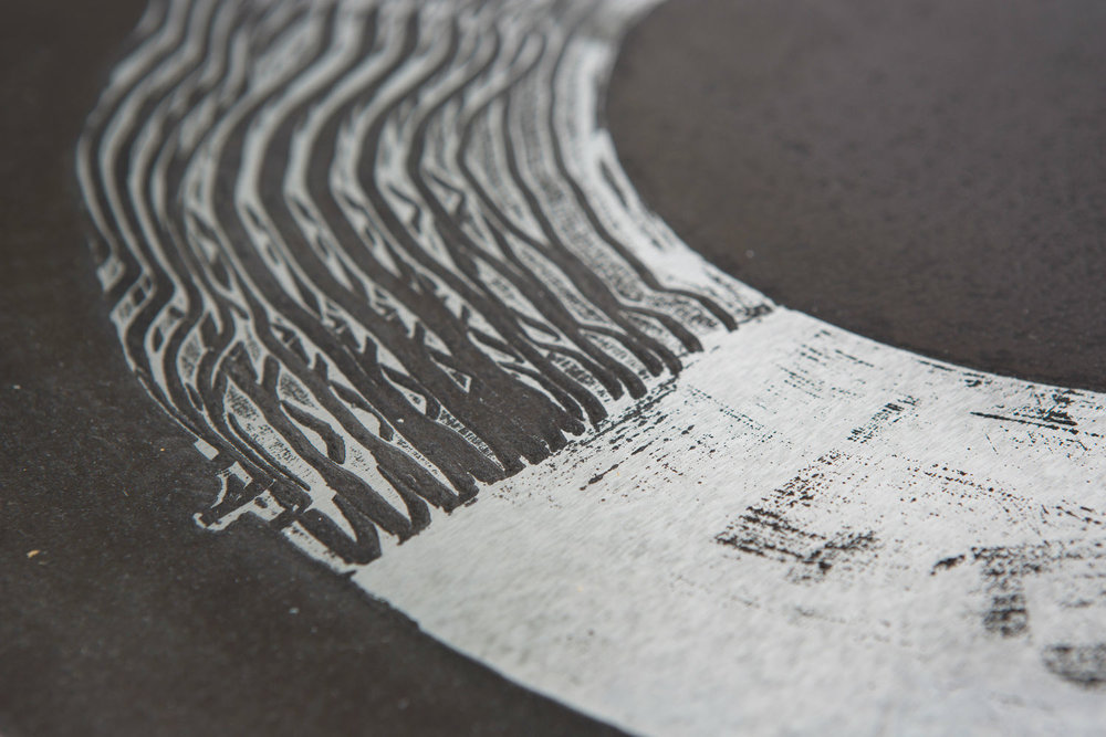 2501 Featured in Juxtapoz Magazine, calligraphic graffiti artist, contemporary abstract artist for sale, miami etra fine art gallery news, canvas art for sale, black and white, smear